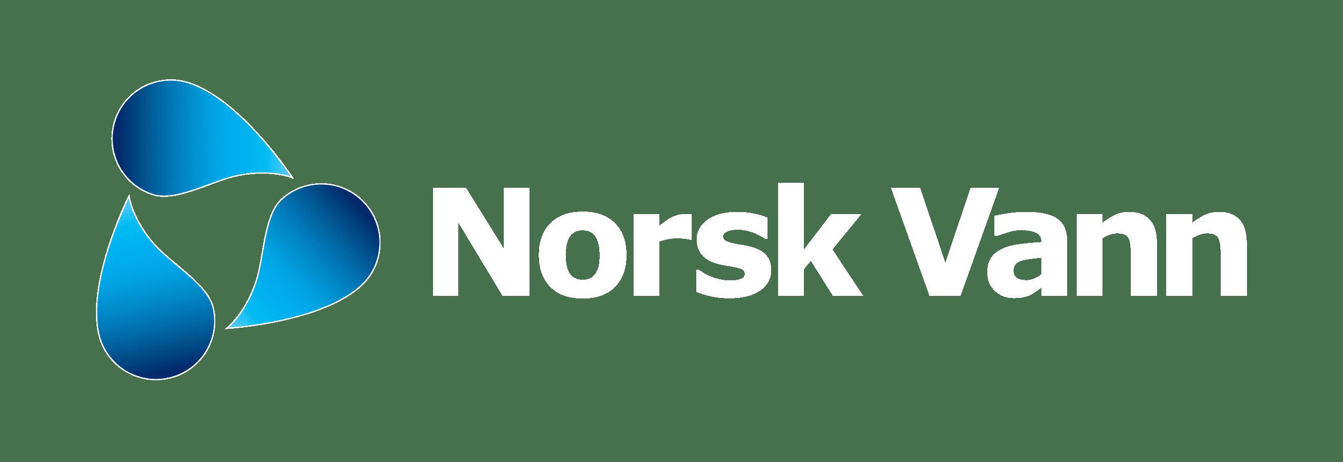 Norsk Vann negativ logo